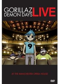 Cover Gorillaz - Demon Days Live [DVD]